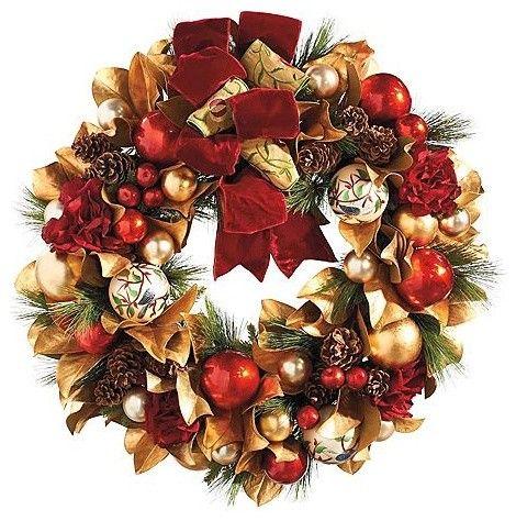 Queen 39 S Collection Christmas Wreath Christmas Decor