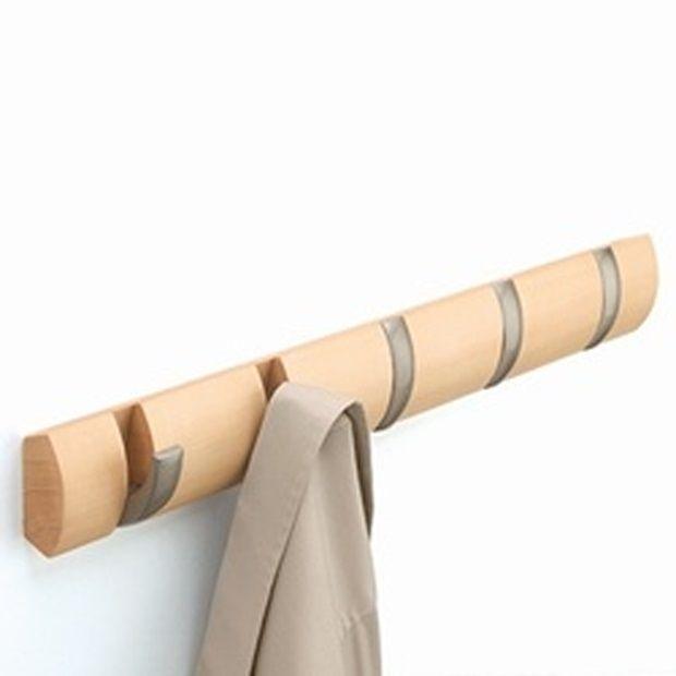 Umbra Flip Inklapbare Kapstok 51 cm - Hout - afbeelding 1