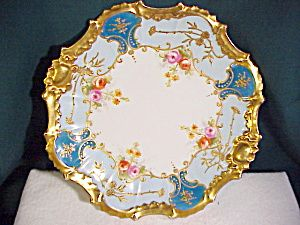 LUSH LIMOGES PLATE DELICATE HAND PAINTING. Click on the image for more information.  sc 1 st  Pinterest & 291 best LIMOGES images on Pinterest | Hand painted China painting ...