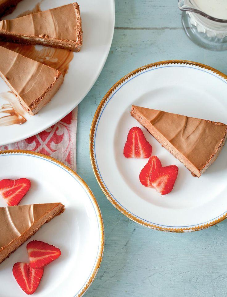 Velvet Chocolate Torte - The Happy Foodie