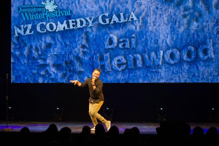 Dai Henwood at the 2013 Comedy Gala. #qtwinterfest #winter2013