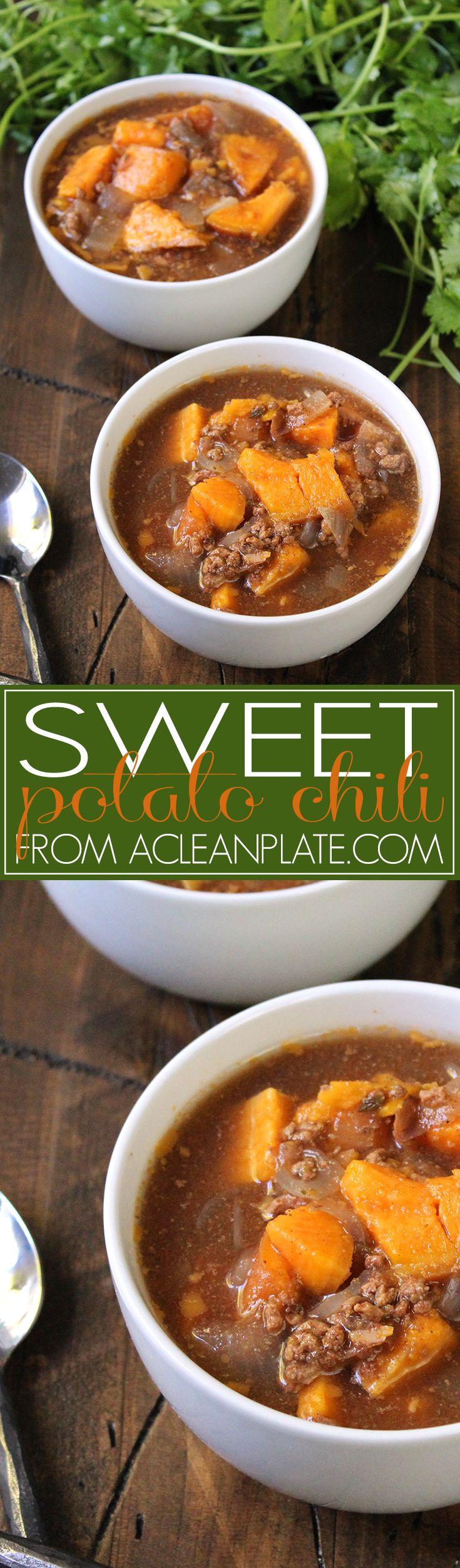 Autoimmune protocol Sweet Potato Chili recipe from A Clean Plate