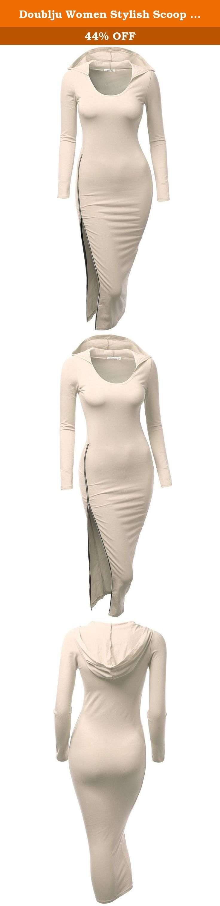 Doublju Women Stylish Scoop Neck Long Sleeve Hoodie Dress BEIGE,L. Doublju Women Stylish Scoop Neck Long Sleeve Hoodie Dress BEIGE,L red dress for women cheap bridesmaid dresses long occasion dress clothing plus size fashion ladies playsuits green dresses dresses for teenagers classy dresses long evening dresses for women womens navy dress shoes long ladies dresses work dresses women HotPink womens fashion Cutout-Detailed Dress clothes and dresses Knotted party dresses for plus size women...