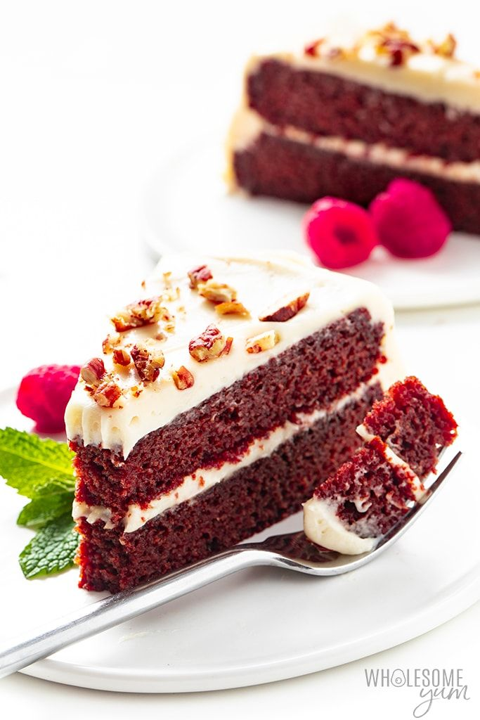 Keto Red Velvet Cake Recipe Wholesome Yum In 2020 Velvet Cake Recipes Red Velvet Cake Recipe Cake Recipes