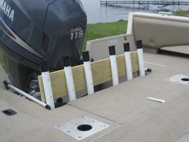Do you want to know how to make a fishing rod holders for boats and to set up your rod? Here you information on fishing rod holders