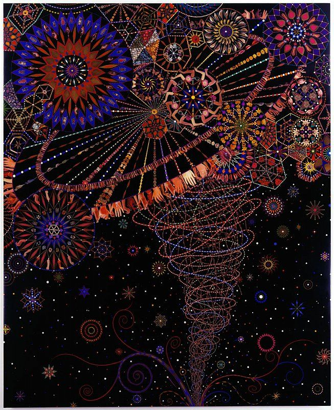 Fred Tomaselli. <3