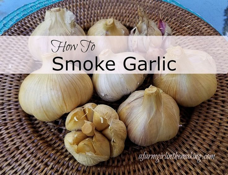 Home smoked garlic is not only easy, but fabulous with any meal! afarmgirlinthemaking.com