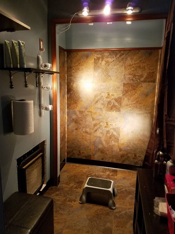 Home Spray Tan Room