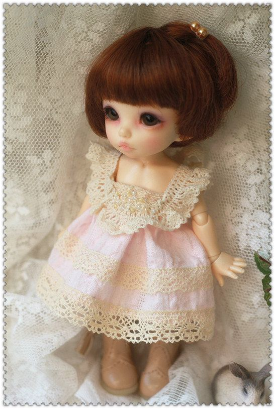 Pink Dress  for Pukifee or Lati Yellow by AngelGarden