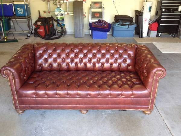 Chesterfield Sofa $1200
