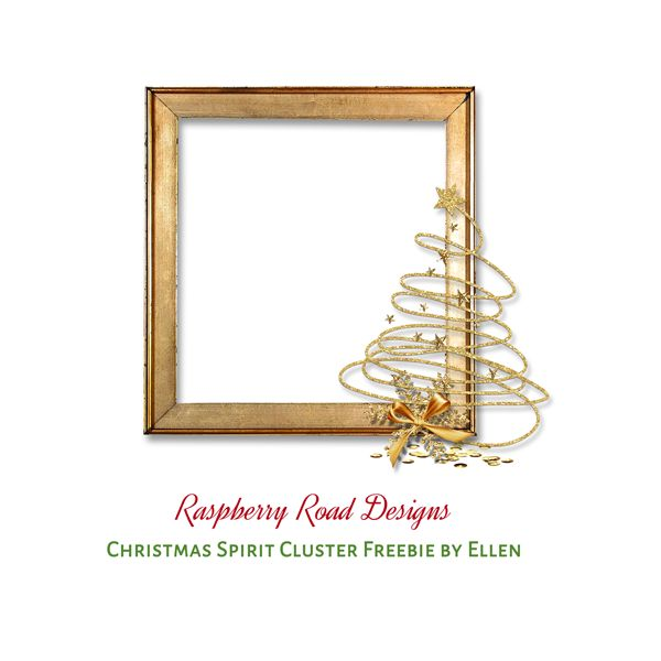 Christmas Spirit Cluster Freebies 1