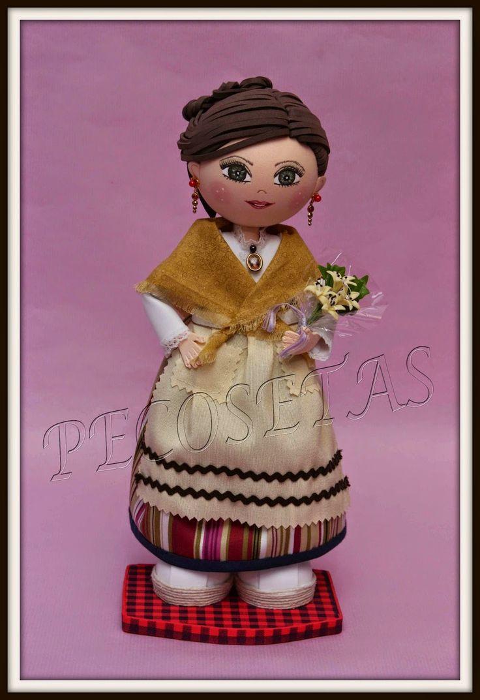 pecosetas: Fofucha baturra 2014 Pecosetas