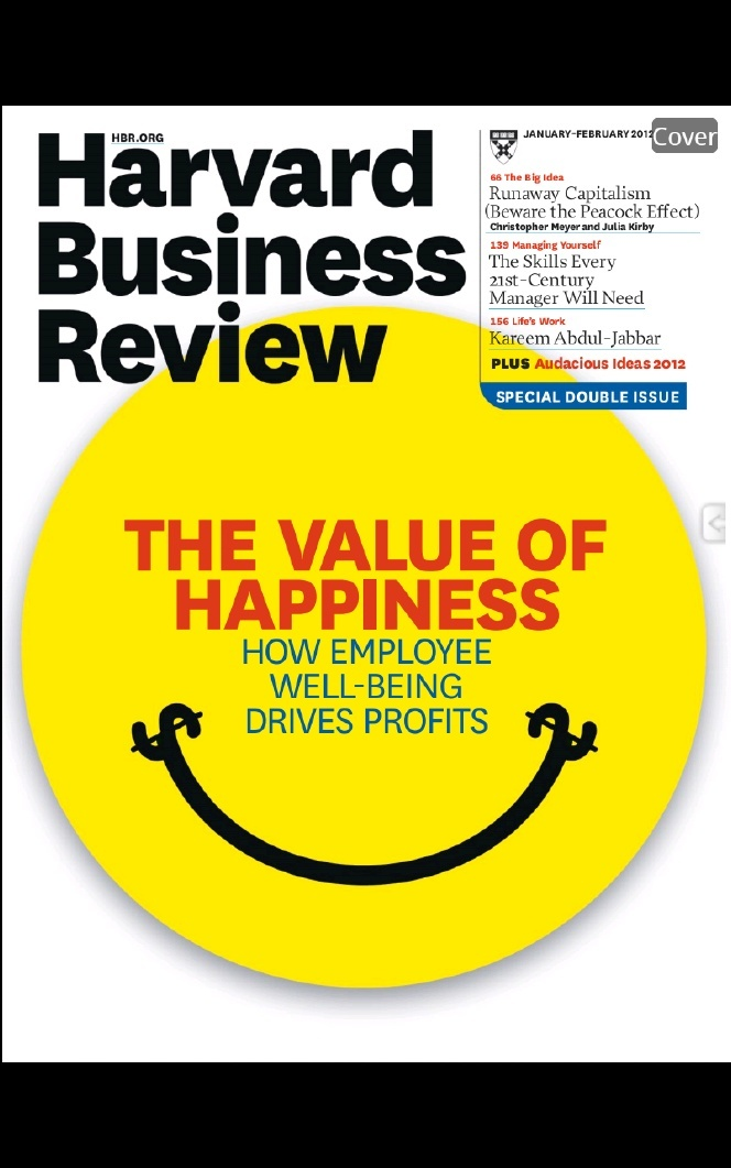 Harvard Business Review -The Value of Happiness All Paths Lead - business review