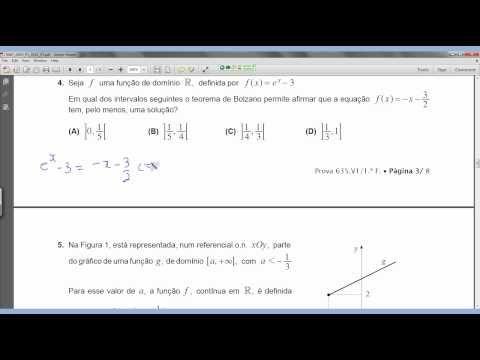 Matemática Simples 12º Resolução do Exame de 2012, 1ª fase- Escolha múltipla  #examematematica