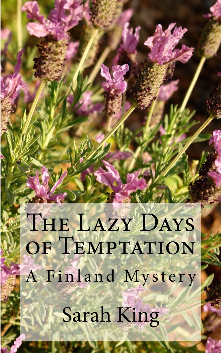 New cover for The Lazy Days of Temptation!