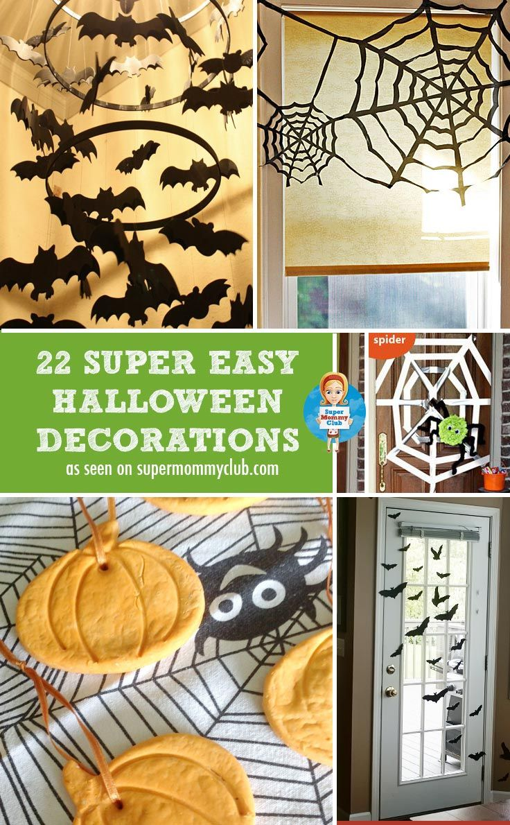 are you looking for homemade halloween decorations these are fun and super easy - Easy Homemade Halloween Decorations