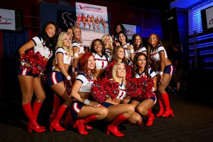 Steamy Texans Cheerleaders Calendar revealed with a Puerto Rican flair