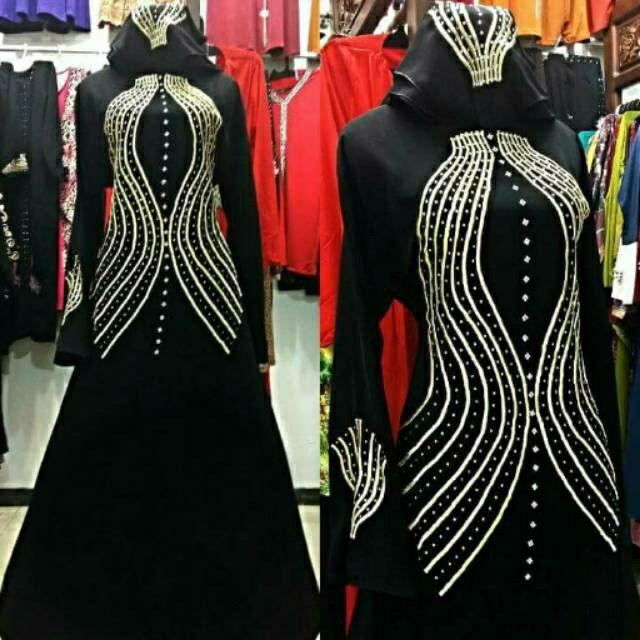 Temukan Dan Dapatkan Abaya Salur Gentong Hanya Rp 190 000 Di Shopee