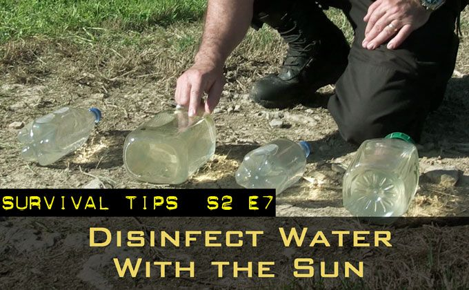 Disinfecting Water With the Sun   Survival News Online