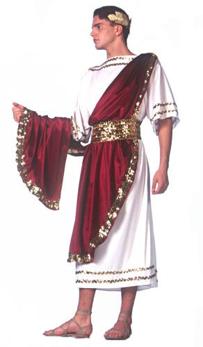 Deluxe Julius Caesar Adult Costume - Greek and Roman Costumes