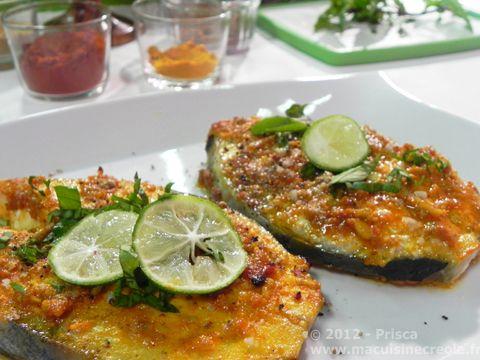 #Recette Poisson express aux épices et citron vert