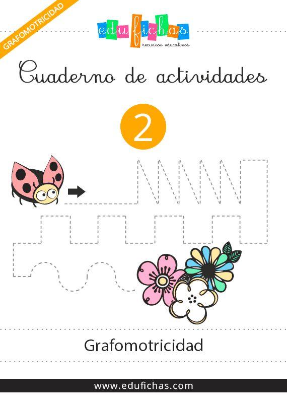 Cuadernos de grafomotricidad gratis para niños: http://www.edufichas.com/descargas/cuadernillos/grafomotricidad/cuaderno-de-grafomotricidad-2/  Blog de recursos educativos: http://www.edufichas.com