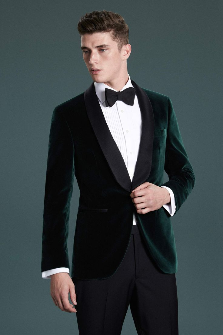 Shawl Collar Velvet Dinner Jacket | Hackett