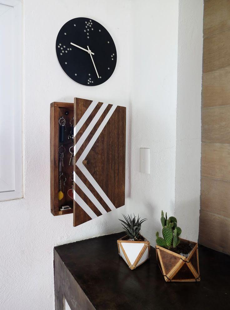 Ohoh Blog - diy and crafts: DIY key holder box