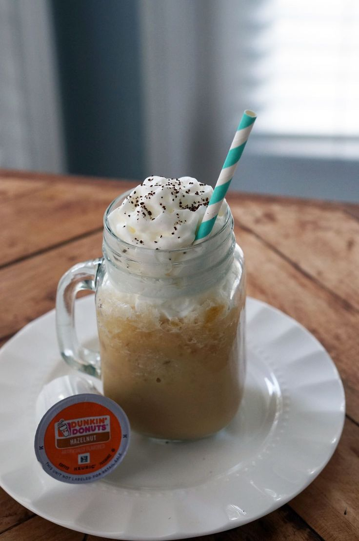 Super easy blended iced coffee recipe - And as always I found all my ingredients @publix ! #Pmedia #DunkinDonutsPublix #ad