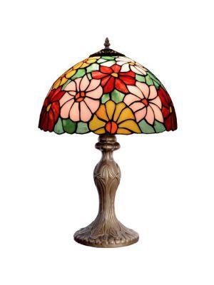 Lampara de mesa Tiffany Floral Primavera