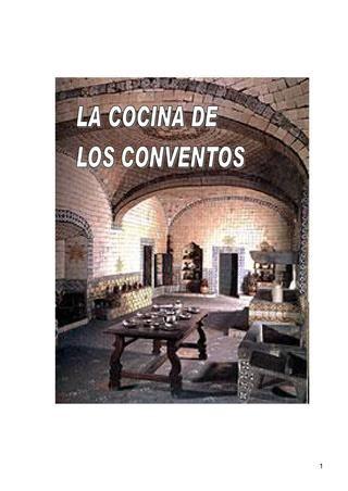 La cocina de los conventos