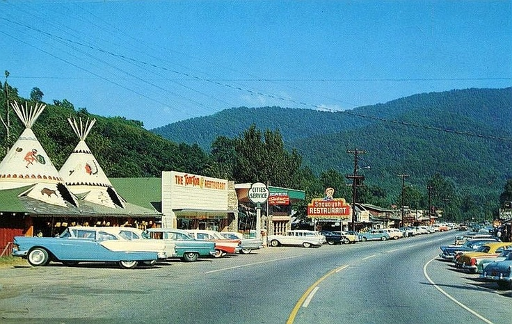 Cherokee NC...went here with family as a small kid and have a pic in front of a tepee
