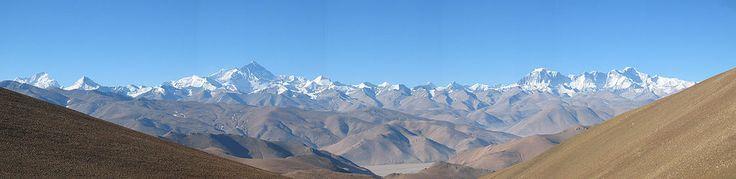 * Monte Everest * Vista Panorâmica.