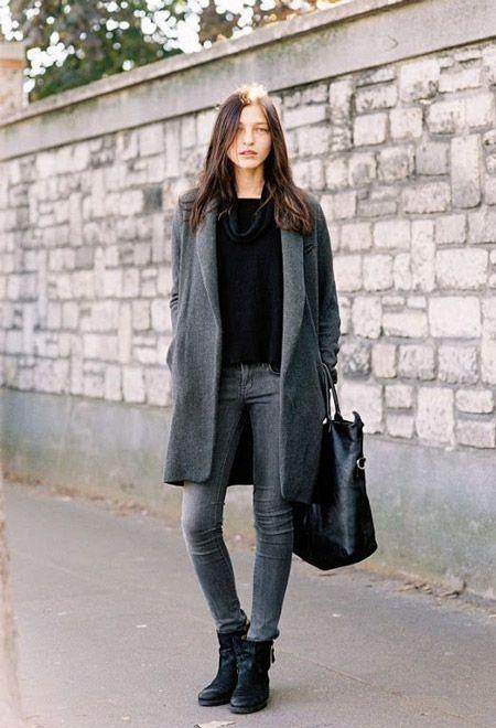 Пусть серые джинсы не особо любят яркие цвета, им больше по душе соединения с…
