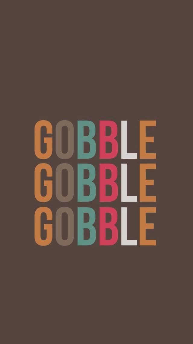 Just Peachy Designs: Free Thanksgiving iPhone 5 Wallpaper
