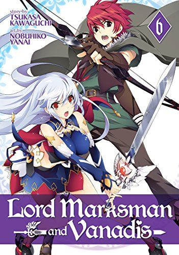 Lord Marksman and Vanadis Vol. 6  It's time for another showdown with Roland, the Black Knight! This time, Elen and Sofy are both up against him — but it's an uphill battle. Is it time for Elen to brandish her Dragon Gear? Meanwhile, the border nation of Muozinel is mobilizing its forces.   via @AnotherUniverse.com  https://anotheruniverse.com/lord-marksman-vanadis-vol-6