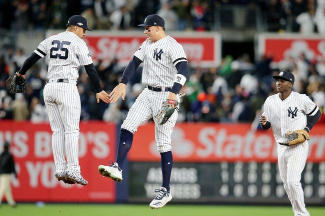 Houston Astros Vs New York Yankees 10 19 19 Mlb Pick Odds And Prediction New York Yankees Houston Astros Mlb