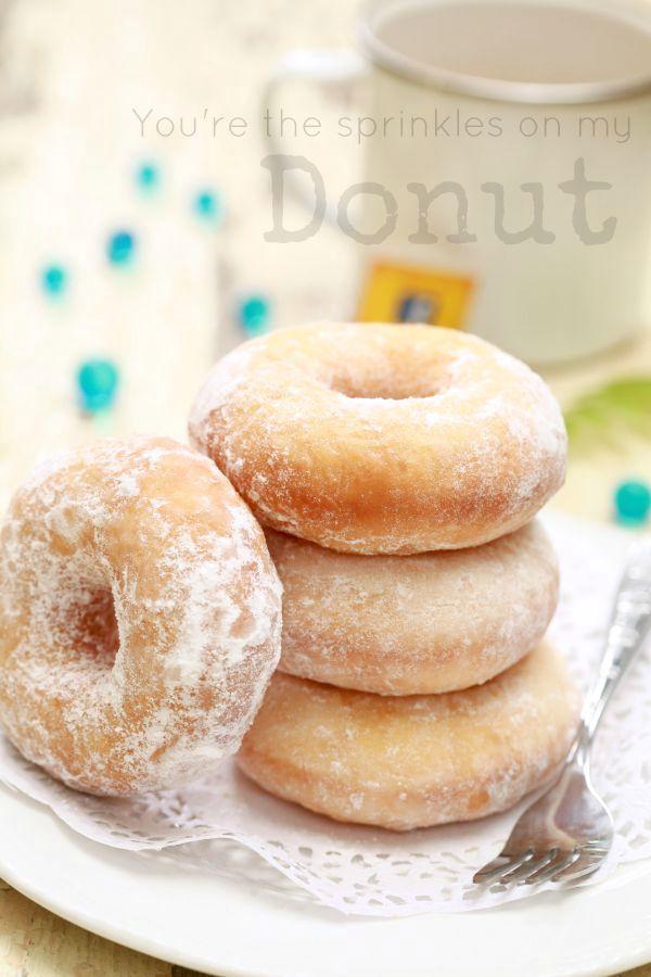 masam manis: Donut Sempoi lembut dan sangat gebu.