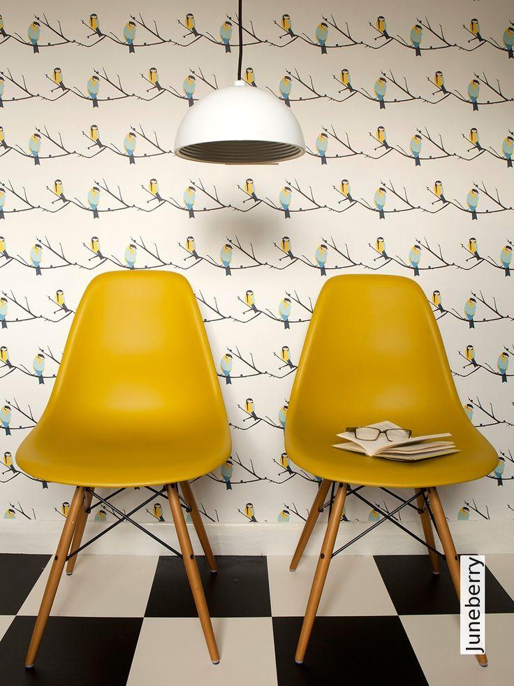 Die besten 25+ Tapete gelb Ideen auf Pinterest | Ornament tapete ...