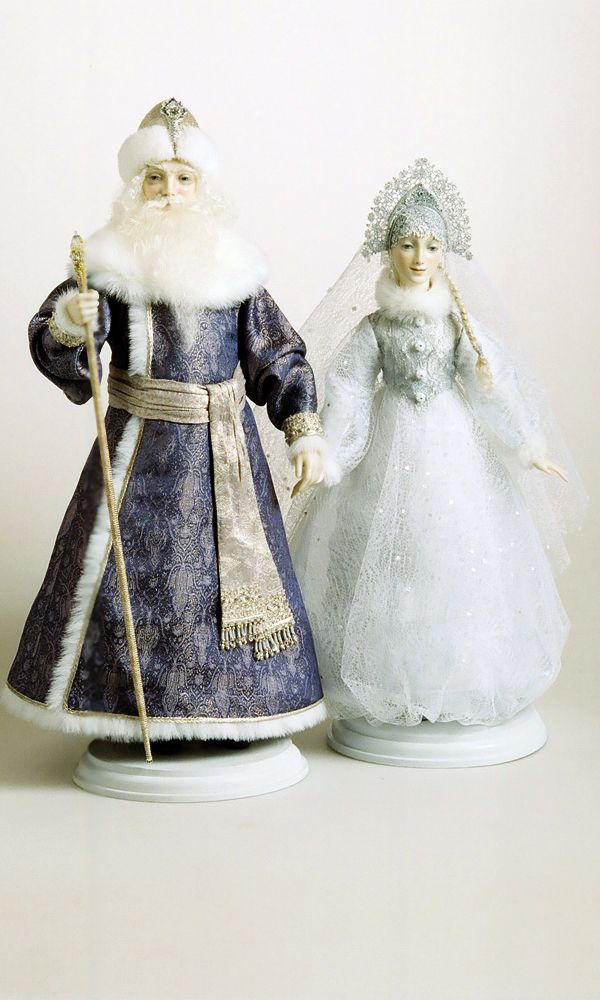 Father Frost and Snow Maiden -- Fantasy Collection - Alexandra Koukinova