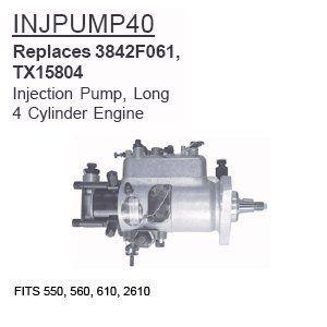 INJPUMP40 Long Tractor Parts Injection Pump, Long 550, 560, 610, 2610  Long Tractor PartsLongCCTP-INJPUMP40  http://industrialsupply.mobi/shop/injpump40-long-tractor-parts-injection-pump-long-550-560-610-2610/