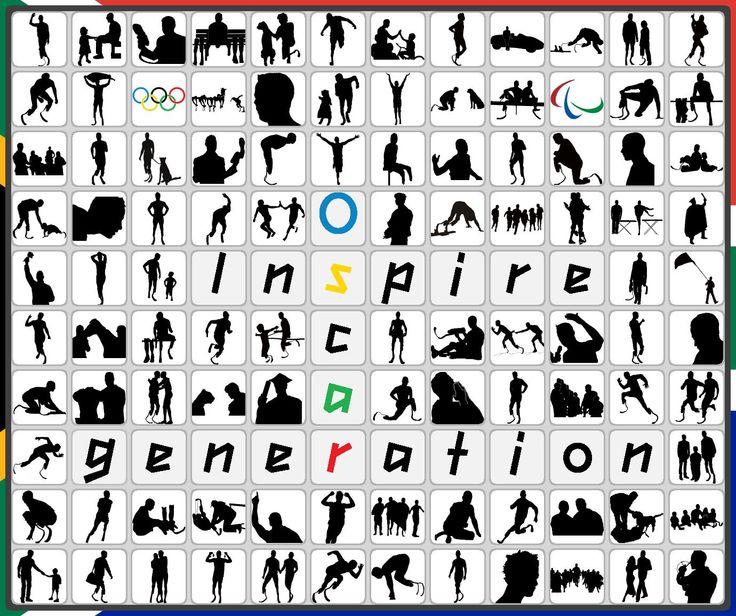 Oscar Pistorius - silhouettes