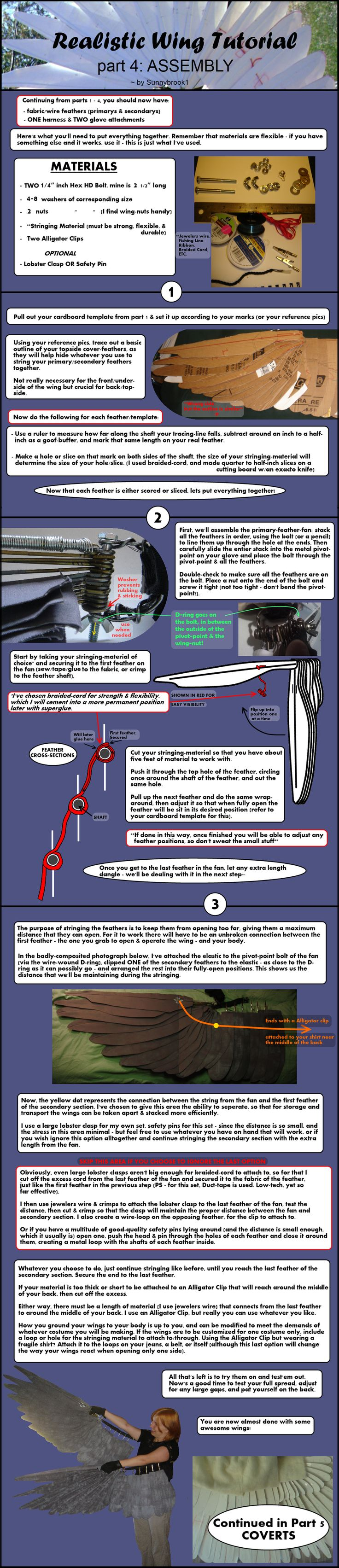 Realistic Wing Tutorial - P.4 by Sunnybrook1 on deviantART