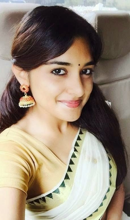 Niveda Thomas In Set Saree Malayalam Actress Photos ~ ACTRESS RARE PHOTO GALLERY