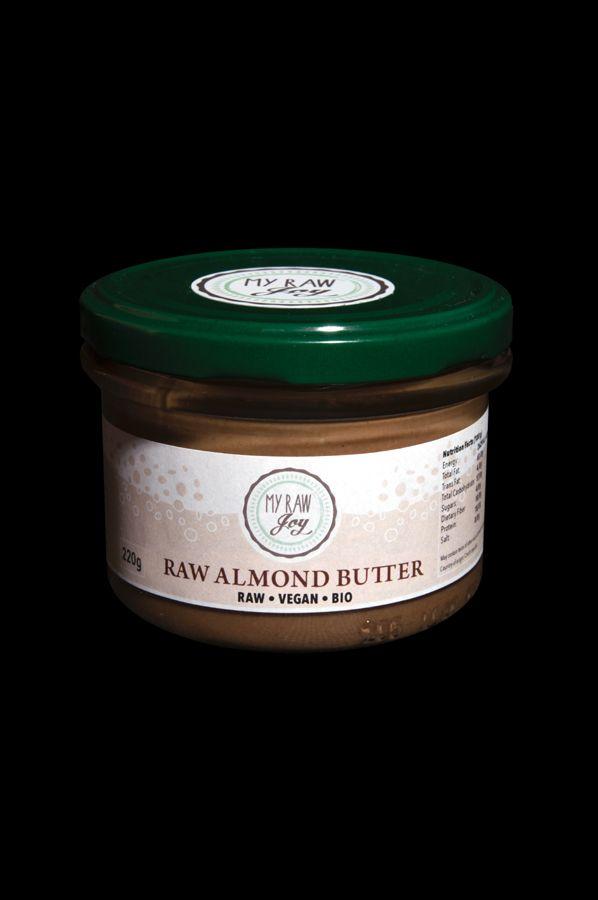 Raw Almond Butter, Raw Vegan, Clean Eating, Bio
