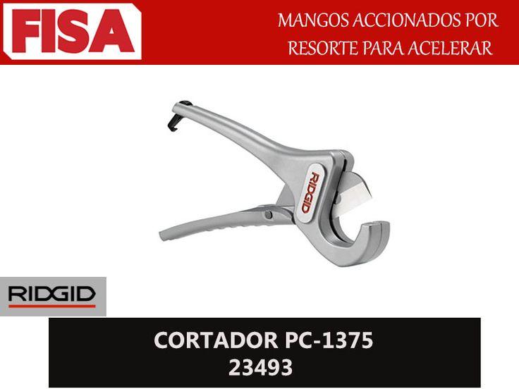 CORTADOR PC-1375 23493. Mangos accionados por resorte para acelerar- FERRETERIA INDUSTRIAL -FISA S.A.S Carrera 25 # 17 - 64 Teléfono: 201 05 55 www.fisa.com.co/ Twitter:@FISA_Colombia Facebook: Ferreteria Industrial FISA Colombia