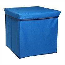 Azur Storage Ottoman Blue