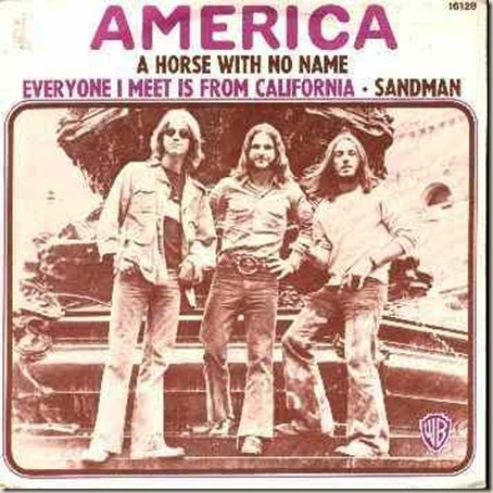 1972 America, A Horse With No Name, the first concert I ever went to. I was 18 and the ticket wa $8.00