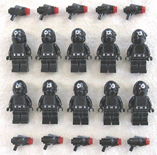 10 New Lego Star Wars Imperial Gunner Minifig Lot Death Star Troopers 75034 @ niftywarehouse.com