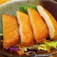 Рыбные лепешки по-японски